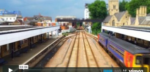 Tilt Shift Timelapse Video by Stu Kennedy